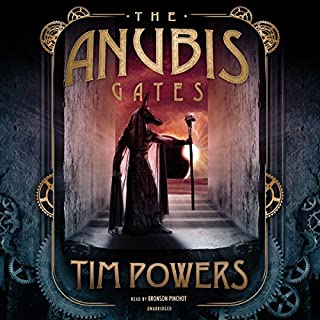The Anubis Gates audiobook cover art