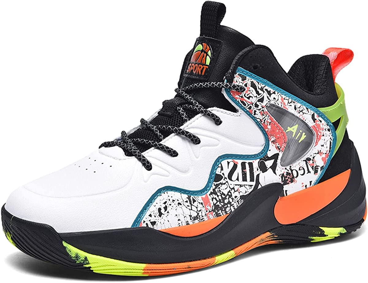 Men's Non-Slip Basketball Shoes Max 90% OFF Shock Selling Absorption Wear-Resistant