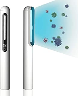 UV Wand Sanitizer Machine, Handheld UV Light Sanitizer for Household and Travel. UV Light Disinfection Phones,Toys,Wardrobe and Baby Items