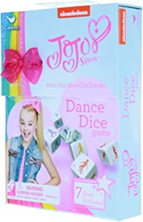 JoJo Siwa Dance Dice Game Kids Dice Throwing Games Promotes Exercise Hair Clips