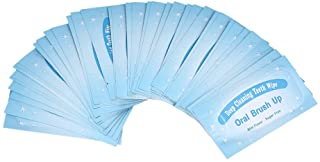 Mint-flavored oral finger wipes teeth whitening wipes oral cleaning wipe (100 Pcs)