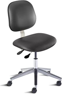 BioFit Engineered Products BEA-L-RC-C-AV126 Belize Series Desk Height Chair with Aluminum Base