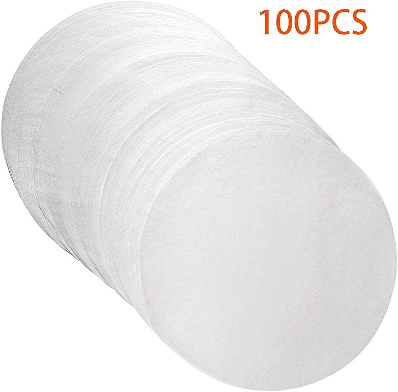 Parchment Paper Circles 100 Pack Cake Baking Paper Rounds Liners 9 Inch
