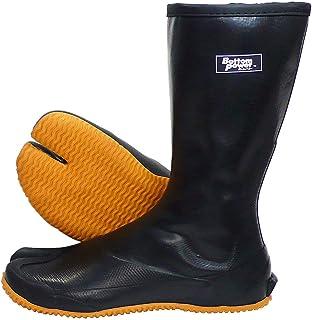 ATOM(アトム) 防水ゴムタビ 指付 履きやすいファスナー付き BP471 (LLサイズ (26.5cm~27.0cm))