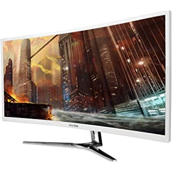 VIOTEK Monitor Curvado para Juegos de 3440x1440p con 100Hz: Amazon.es: Electrónica