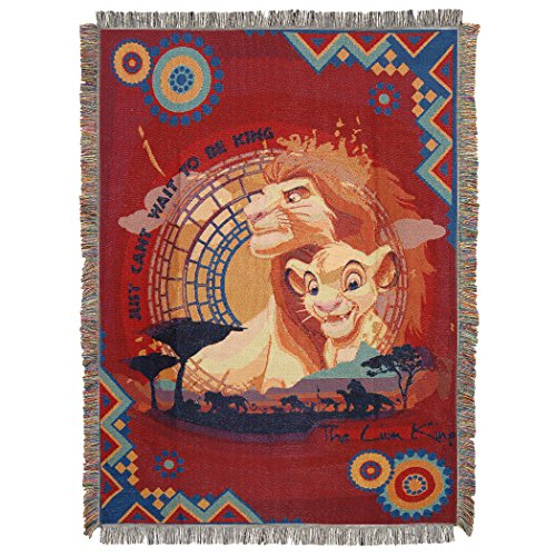 Disney Überwurf-Decke, Mehrfarbig