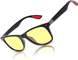 عینک دید در شب برای رانندگی - عینک آفتابی HD Anti Glare Clearsight عینک آفتابی مردانه زنانه Frame Ray Rainy Safe Night Night Polarized Fashion Sight Ray Sung Ray