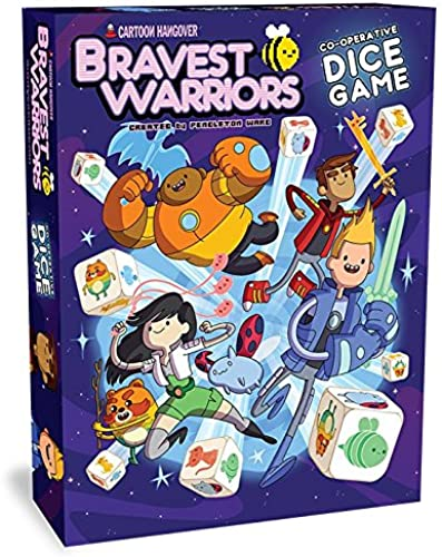 Cryptozoic EntertainHommest - 330262 - Bravest Warriors - Coopérative Dice Game