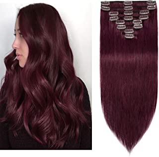 Best red remy hair extensions Reviews