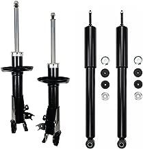 VIOJI Set of 4 Complete Front Right+Left Side Gas Strut Shock Absorber for 06-11 Honda Civic Sedan
