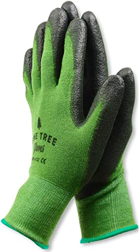 Pine Tree Tools Bamboo Working Gloves for Women and Men. Ultimate Barehand Sensitivity Work Glove for Gardening, Fish...