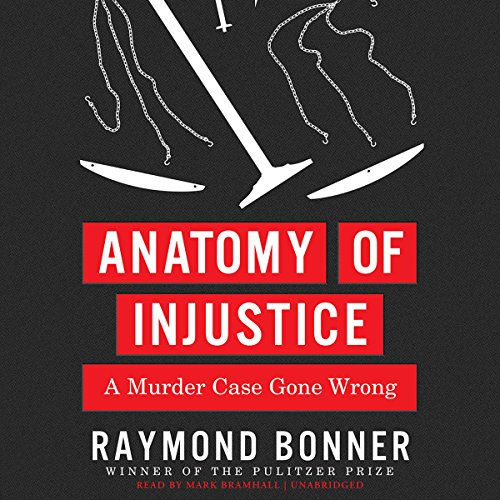 Anatomy of Injustice audiobook cover art
