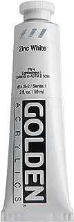 2 Oz Heavy Body Acrylic Color Paints Color: Zinc White
