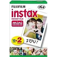 Fujifilm Instax Mini Twin Film Pack (20 Exposures)