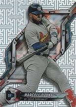 2018 Topps High Tek Pattern 4 Circuit Board #HT-MO Marcell Ozuna St. Louis Cardinals Baseball Card