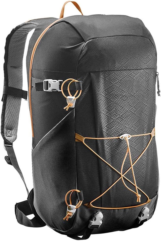 Outdoor Bergsteigen Tasche Multifunktions-Reiserucksack Fahrradrucksack Wandern Camping Rucksack Mit Groer Kapazitt ZHJDD (Farbe   schwarz)