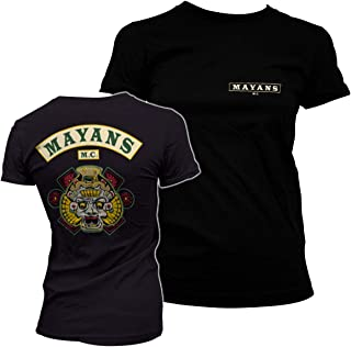 Mayans M.C. Officially Licensed Backpatch Women T-Shirt
