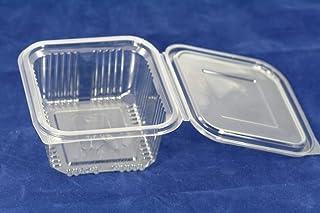 Recipientes de plástico desechables de 500ml con tapa