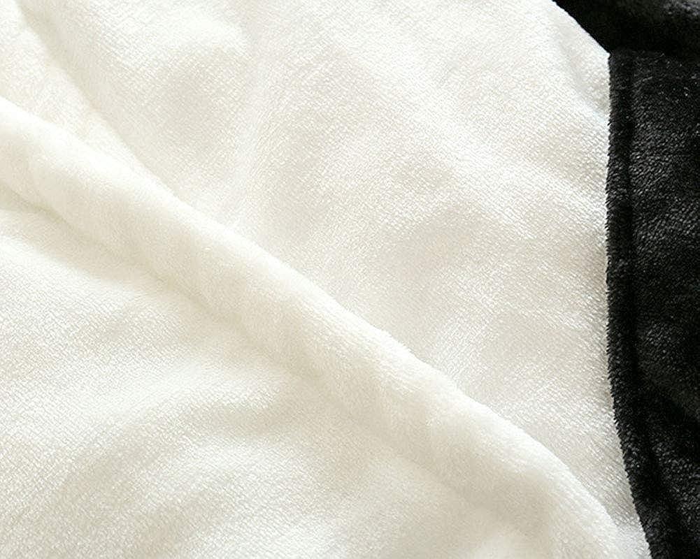 YAOTT Enfants Peignoirs en Forme de Panda Doux Robe de Chambre Pyjama en Flanelle V/êtements de Nuit Loungewear Confortable