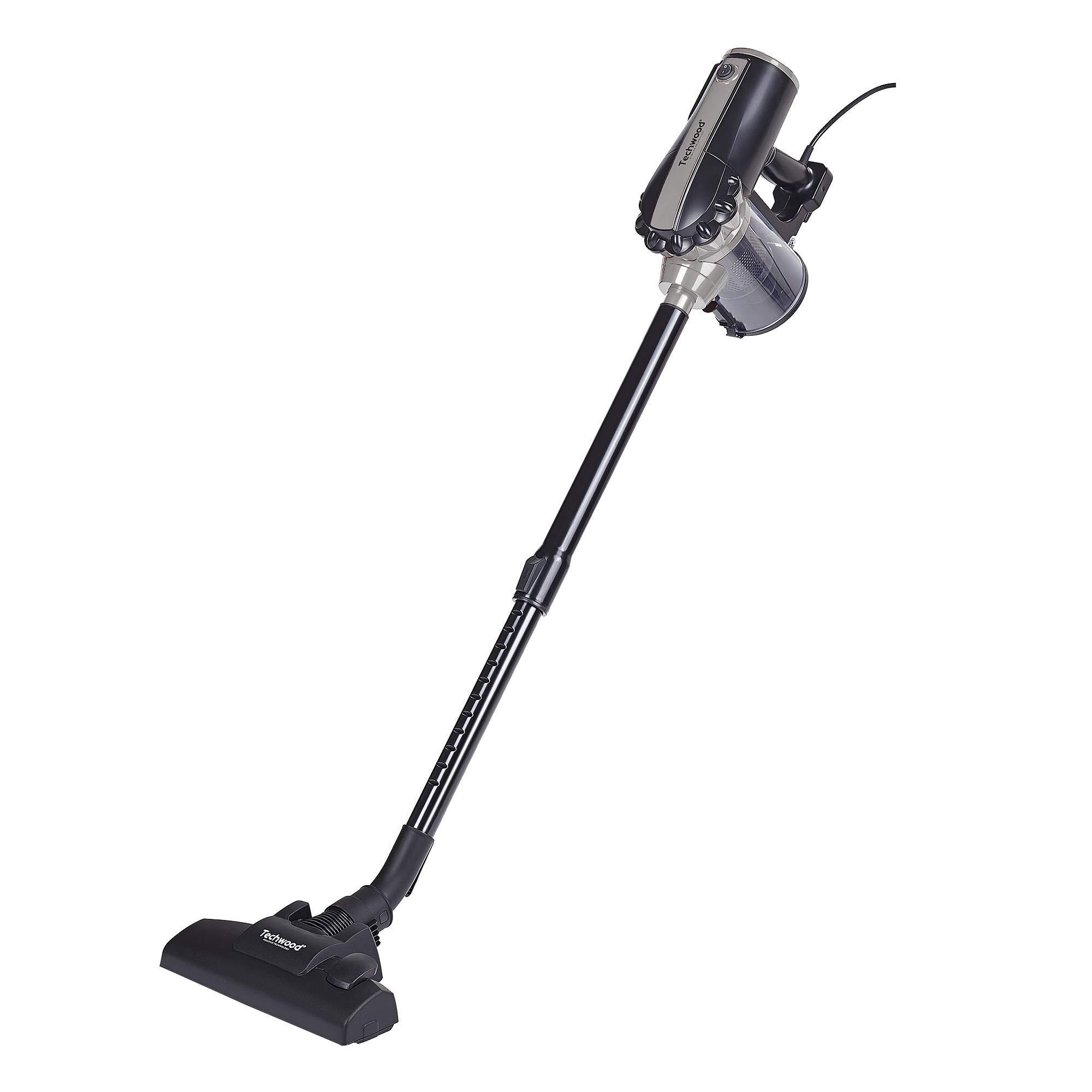 Techwood TAS-656 - Aspirador escoba 2 en 1, 0,5 l, 600 W, color negro y plata: Amazon.es: Hogar