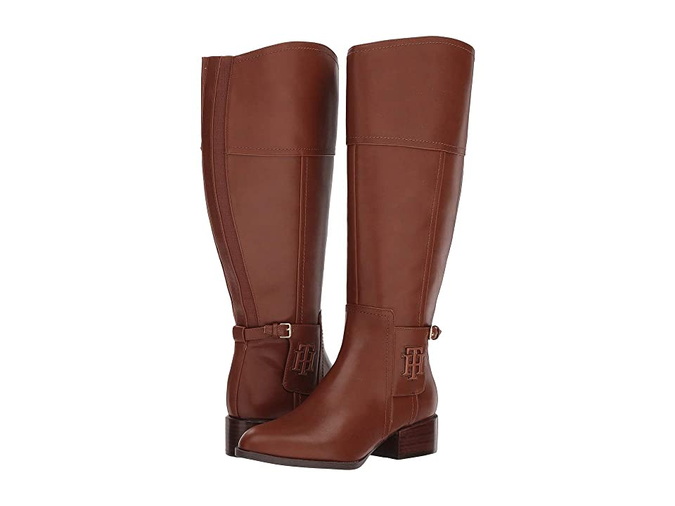 Tommy Hilfiger Mani Wide Calf (Light Chestnut) Women