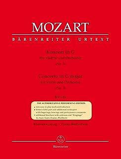 Concerto for Violin No.3 in G major K.216 (Violin & Piano)