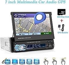 Eaglerich Car Multimedia Player Autoradio GPS Navigation Stereo Audio Radio Bluetooth 1DIN 7