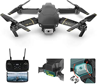 Adsvtech FPV Mini Drone with Camera for Adults, 1080P HD Dual Cameras, WiFi RC Quadcopter Helicopter APP Smart Controller,...