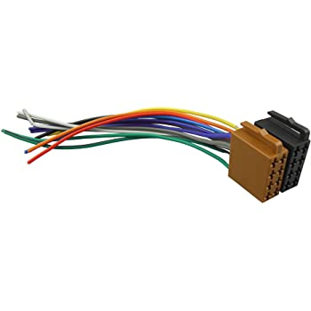 [DIAGRAM_5FD]  Amazon.com: DKMUS Universal ISO Car Radio Wire Cable Wiring Harness Stereo  Adapter Connector Adaptor Plug Power and Loudspeaker Female: Electronics | Information About Car Radio Iso Wiring Harness Adapters |  | Amazon.com