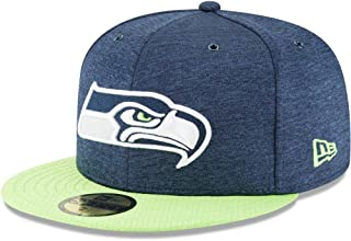 New Era Seattle Seahawks NFL Sideline 18 Home On Field Cap 59fifty Fitted OTC