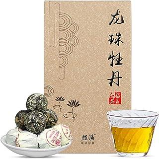 白茶 福鼎白茶 白牡丹 老白茶お茶の玉250gケース(約50粒)2014年原料 中国茶 白茶セット ノンカフェイン 無添加