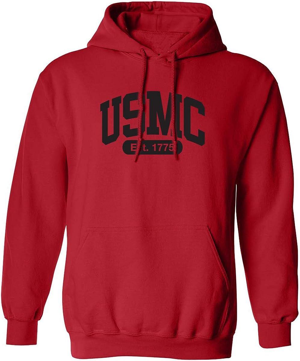 USMC Est.1775 Adult Hooded Sweatshirt