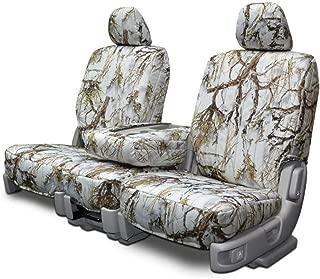 Custom Fit Seats Covers - Dodge Ram 40-20-40 Seats - Snow Camouflage Fabric