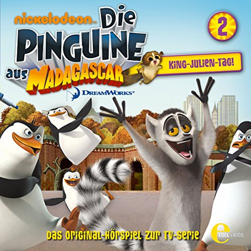 Page de couverture de King-Julien-Tag. Das Original-Hörspiel zur TV-Serie
