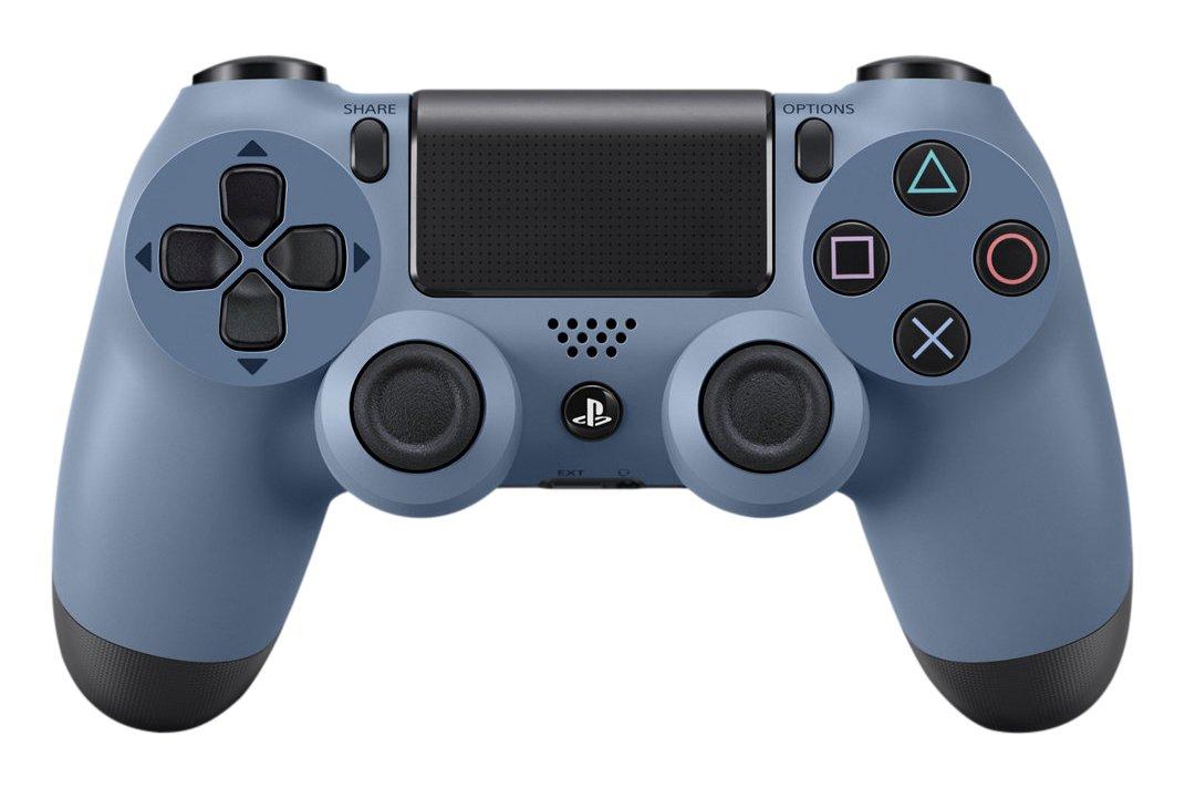 Sony DualShock 4, Limited Edition Uncharted 4 Gamepad PlayStation 4 Azul, Gris - Volante/mando (Limited Edition Uncharted 4, Gamepad, PlayStation 4, Analógico/Digital, D-pad, Alámbrico, Bluetooth): Amazon.es: Videojuegos