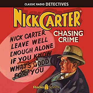 Nick Carter, Master Detective: Chasing Crime cover art