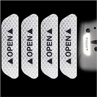 TRUSTTWO Auto deurwiel wenkbrauw auto stickers auto reflecterende stickers geschikt voor BMW Volkswagen Toyota Ford Mazda ...
