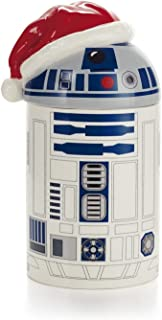 Hallmark Exclusive 2014 Star Wars R2-D2 Caroling Treat Jar with Sound - #XKT1463