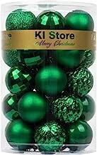 KI Store 34ct Christmas Ball Ornaments Shatterproof Christmas Decorations Tree Balls Small for Holiday Wedding Party Decor...