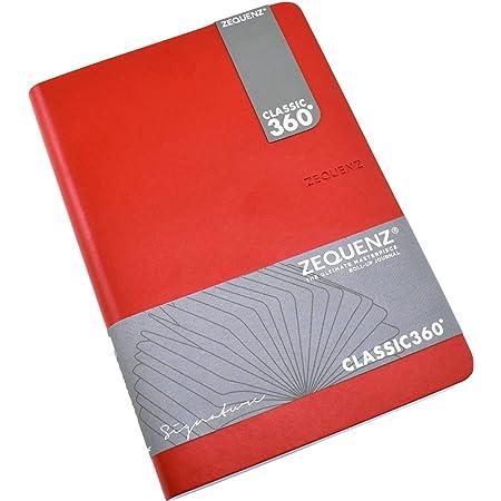 Black 360-SNJ-A6-LITE-BKB Zequenz Notebook Signature Lite A6 Blank