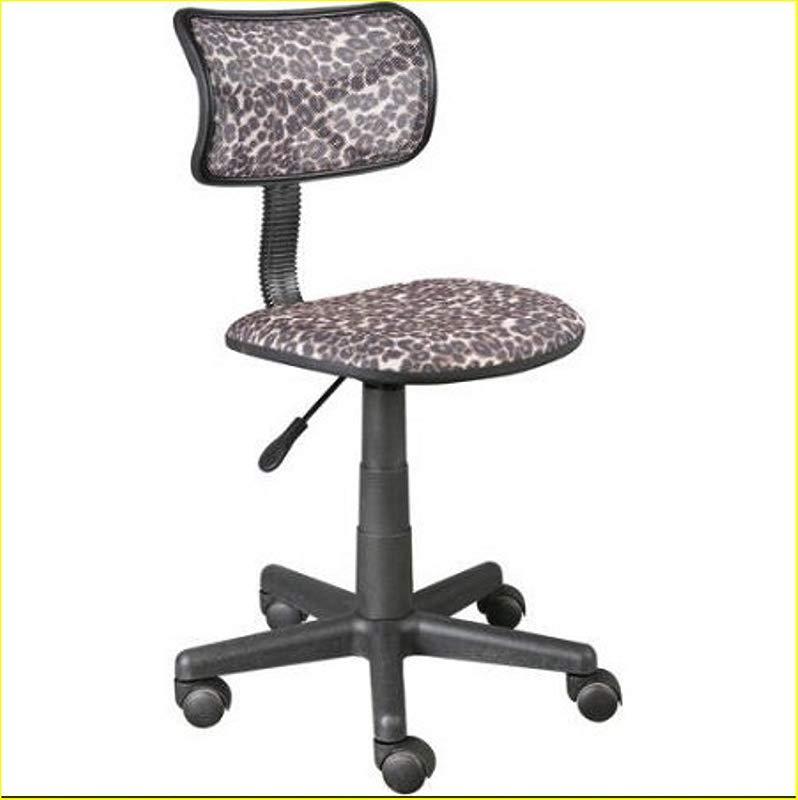 Urban Shop Swivel Mesh Chair Leopard