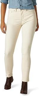 Lee Uniforms Women's Sculpting Slim Fit Skinny Leg Jean, Whitecap Gray, 0