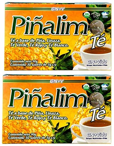 Te Pinalim Tea GN+Vida Weight Loss Tea Diet 60 Day Supply (Pack of 2)