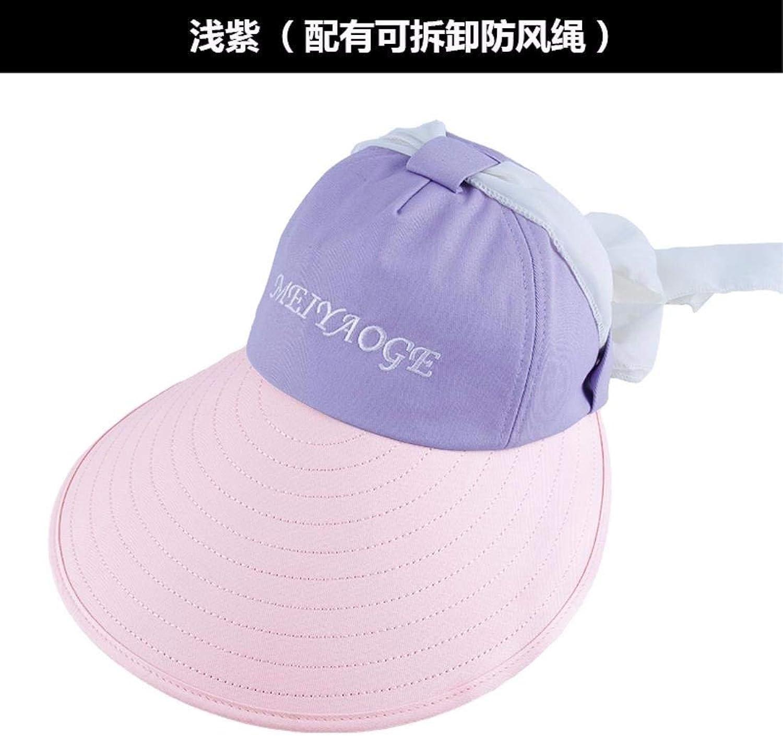 Beach Hat Women's Hats Summer Outdoor Ultrapurple Top Hat Sun Cap Beach Cap Bike Cap Purple Summer Sun Hat