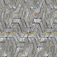 Empty 現代の抽象的な幾何学模様の壁画の壁紙リビングルームKTVバークリエイティブな背景壁アートの壁紙PapelDe Parede 3D-450x300CM