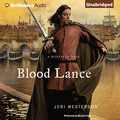 Blood Lance audiobook cover art