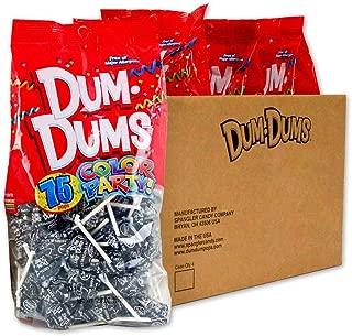 Dum Dums Black Black Cherry 4-75 count bags