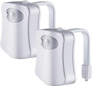 ADMOZ Multi-Color Motion Sensor LED Toilet Night Light ? Light Detection Sensor? Cool New Fun Gadget for Him Her Men Women...