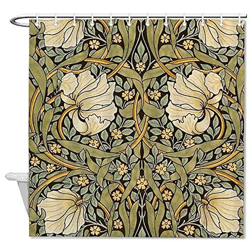 AORSTAR Tenda da Doccia d/¨/¦Cor Aladdins Magic Carpet Waterproof Shower Curtain Eco-Friendly Tie-Dye Decor 72x72 inch