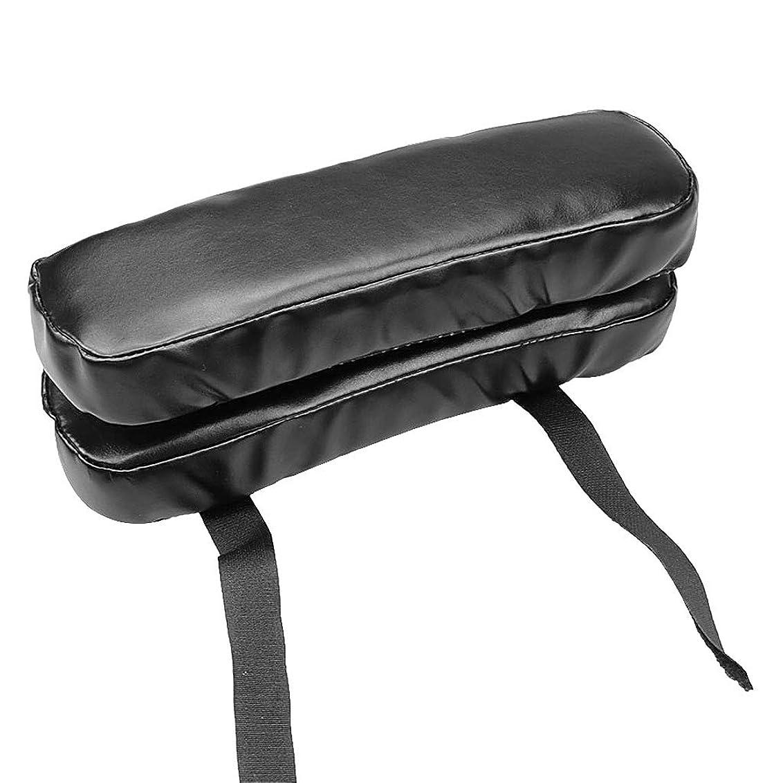 補償比較的夕食を作るLamdoo puレザーチェアアームレストパッドクッション低反発ソフト反発肘肘枕オフィス車の椅子
